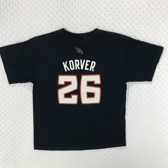 buy popular 11f58 61d97 NBA Atlanta Hawks Kyle Korver T Shirt Youth